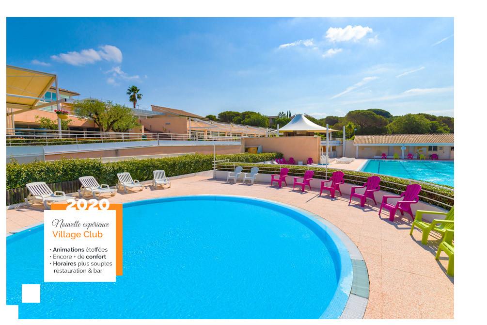 vacances piscine village club frejus